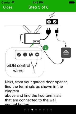Smartphone Garage Door Opener - GarageDoorBuddy on